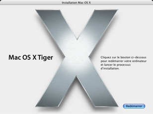 Tiger-Installation